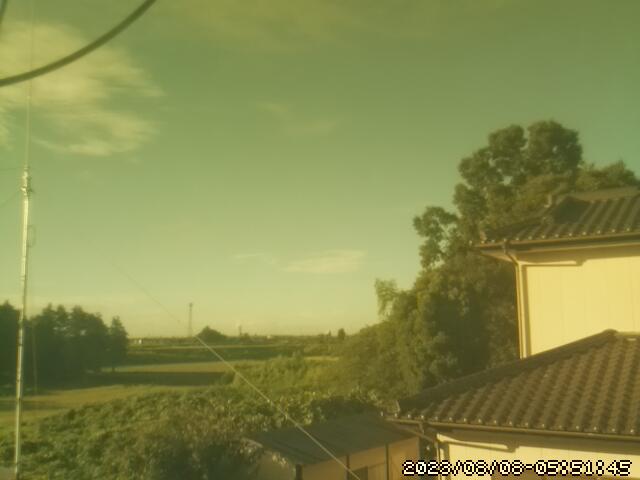 茨城県常総市お天気カメラ